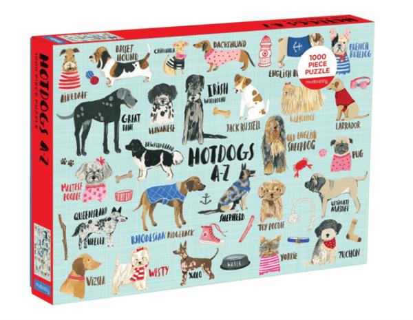 Dog puzzle box