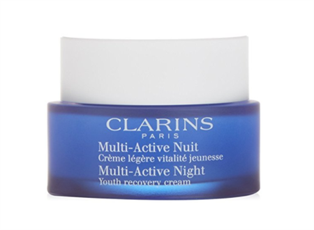 Clarins night recovery cream container