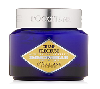 L'Occitane holly extract night cream container