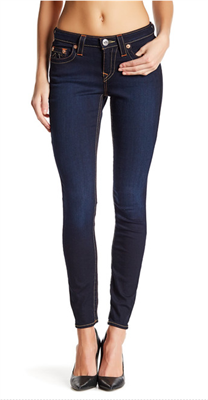 Women's dark skinny jean by True Religion