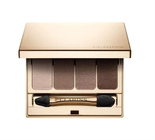 Clarins 4-Colour Eyeshadow Palette in brown