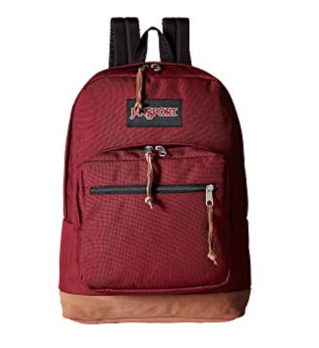 Red JanSport Right Pack