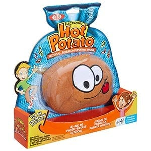 Hot potato game box