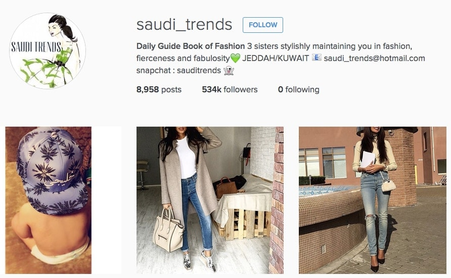Saudi Trends the Sisters
