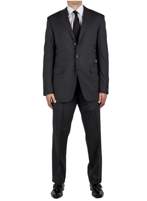 Three-button suit in Grey by Prada